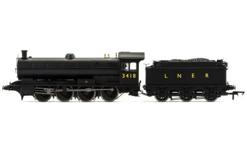 R3424 OO 3418 Q6 0-8-0 LNER BLACK