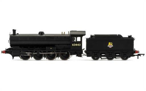 R3425 OO 63443 Q6 0-8-0 BR BLACK EARLY