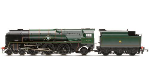 R3566 OO 35014 REBULT MERCHANT NAVY 4-6-2 BR GREEN EARLY