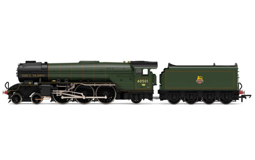 R3830 OO 60501 THOMPSON A2/2 4-6-2 BR LINED GREEN EARLY COCK OF THE NORTH