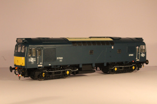 2533 OO  D7661 CLASS  25/3 BR EARLY BLUE SMALL YELLOW