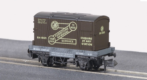 NR-20 N B73570 CONTAINER GW BROWN