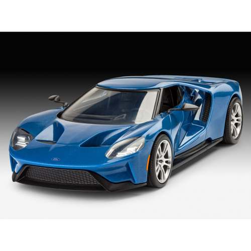 R07678 1/24 2017 FORD GT EASY-CLICK PLASTIC KIT