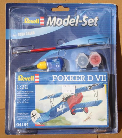 R64194 1/72 FOKKER D VII MODEL SET PLASTIC KIT