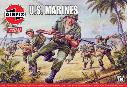 A00716V 1/72 WWII US MARINES