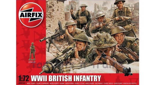 A00763 1/72 WWII BRITISH INFANTRY