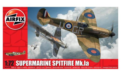 A01071B 1/72 SUPERMARINE SPITFIRE MK.1A PLASTIC KIT