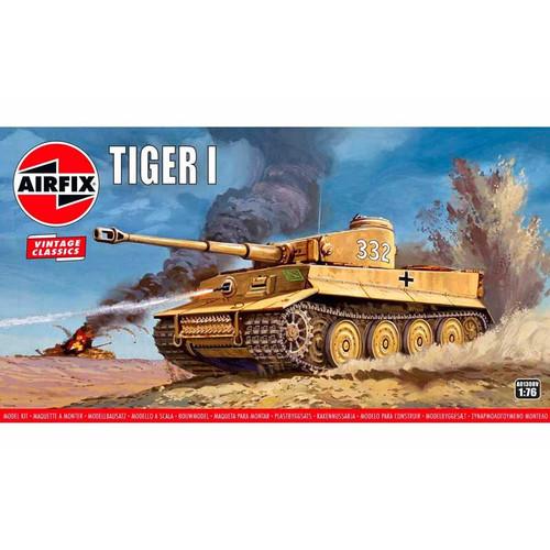 A01308V OO TIGER 1 TANK PLASTIC KIT