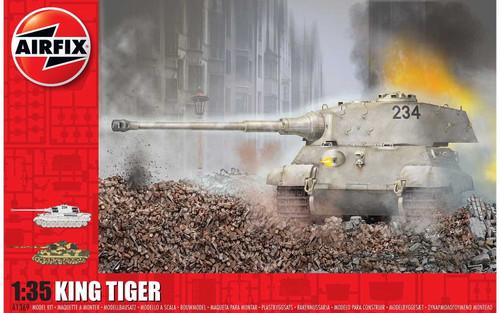 A1369 1/35 KING TIGER PLASTIC KIT