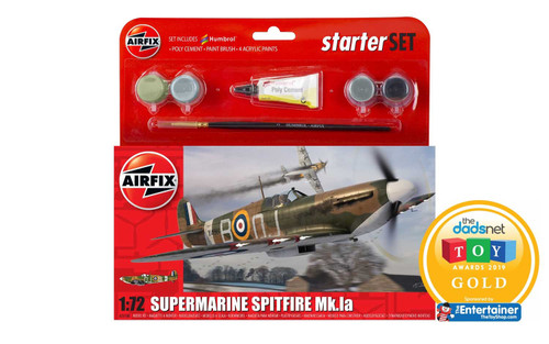 A55100 1/72 SUPERMARINE SPITFIRE MK1A STARTER PLASTIC KIT