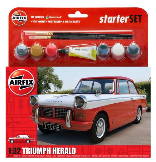 A55201 1/32 TRIUMPH HERALD STARTER PLASTIC KIT