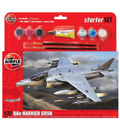 A55300 1/72 BAE HARRIER GR9A STARTER SET PLASTIC KIT