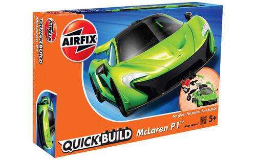 J6021 MCLAREN P1 GREEN QUICKBUILD PLASTIC KIT