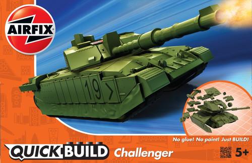 J6022 CHALLENGER TANK GREEN QUICKBUILD PLASTIC KIT