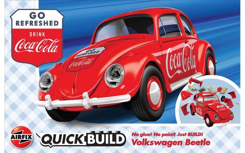 J6048 VW BEETLE COCA-COLA QUICKBUILD PLASTIC KIT