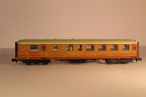 2P-011-302 N 9118 GRESLEY BUFFET LNER TEAK