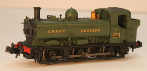 2S-007-021 N 8752 8750 CLASS 0-6-0PT GREEN GREAT WESTERN