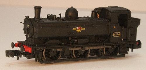 2S-007-027 N 9770 8750 CLASS 0-6-0PT BR BLACK LATE