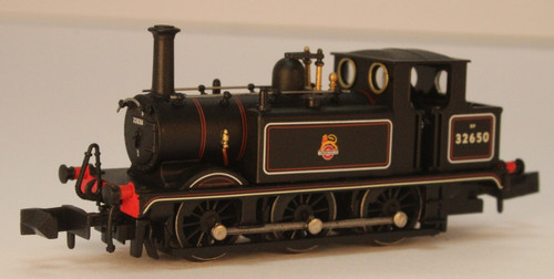 2S-012-013 N 32650 TERRIER 0-6-0T A1X BR LINED BLACK EARLY