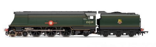R3649 OO 35029 ORIGINAL MERCHANT NAVY 4-6-2 BR GREEN EARLY ELLERMAN LINES