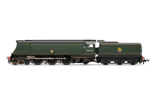 R3716 OO 35022 ORIGINAL MERCHANT NAVY 4-6-2 BR GREEN EARLY HOLLAND AMERICA LINE