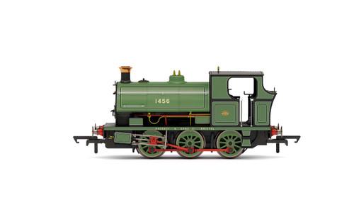 R3765 OO 1456 PECKETT B2 0-6-0ST WORKS LIVERY (GREEN)