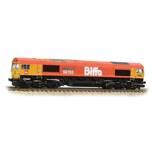 371-399 N 66783 CLASS 66/7 (GBRF) BIFFA THE FLYING DUSTMAN