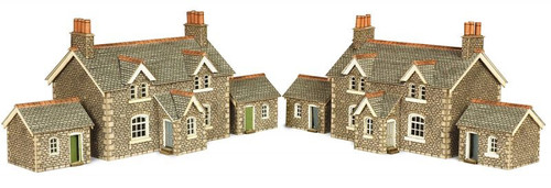 PN155 N WORKERS COTTAGES CARD KIT