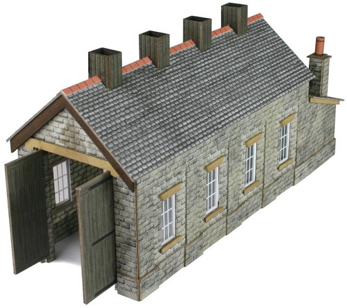 PN932 N STONE SINGLE ENGINE SHED CARD KIT