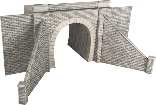 PO242 OO DOUBLE TRACK STONE TUNNEL ENTRANCES CARD KIT
