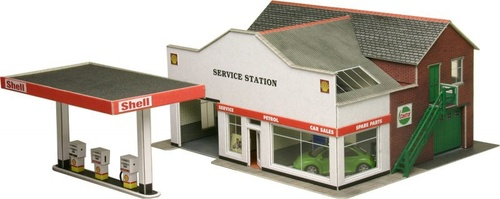 PO281 OO SERVICE STATION CARD KIT
