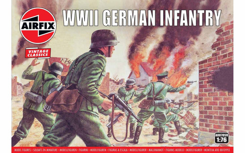 A00705V 1/72 WWII GERMAN INFANTRY
