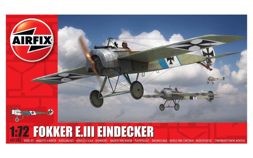 A01087 1/72 FOKKER E.III EINDECKER PLASTIC KIT