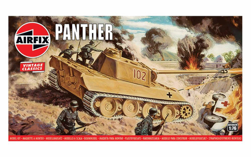 A01302V OO PANTHER TANK PLASTIC KIT