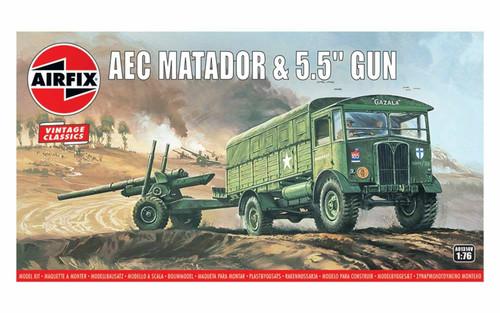 A01314V OO AEC MATADOR/5.5 INCH GUN PLASTIC KIT