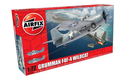 A02070 1/72 GRUMMAN F4F-4 WILDCAT PLASTIC KIT