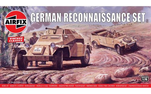 A02312V OO GERMAN RECONNAISSANCE SET PLASTIC KIT
