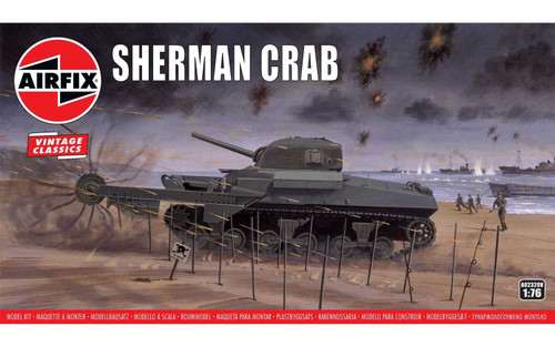 A02320V OO SHERMAN CRAB PLASTIC KIT
