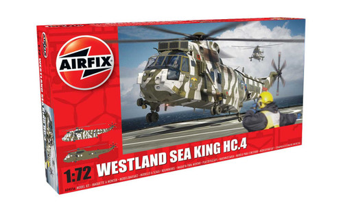 A04056 1/72 WESTLAND SEA KING HC.4 PLASTIC KIT
