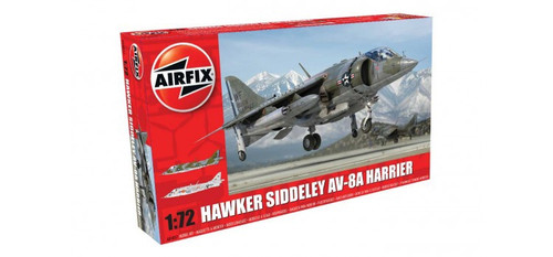 A04057 1/72 BAE AV8A HARRIER PLASTIC KIT