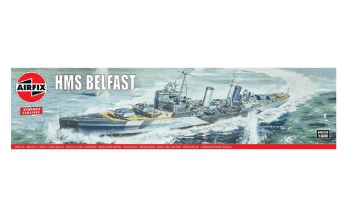 A04212V 1/600 HMS BELFAST PLASTIC KIT