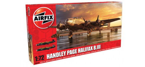A06008A 1/72 HANDLEY PAGE HALIFAX B.III PLASTIC KIT