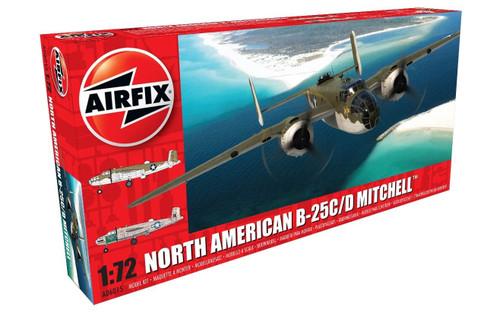 A06015 1/72 NORTH AMERICAN B-25C/D MITCHELL PLASTIC KIT