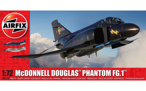 A06019 1/72 MCDONNELL DOUGLAS FG.1 PHANTOM RAF PLASTIC KIT