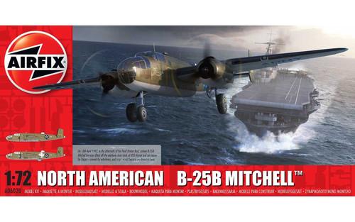 A06020 1/72 NORTH AMERICAN B25B MITCHELL PLASTIC KIT