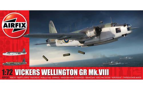 A08020 1/72 VICKERS WELLINGTON GR MK.VIII PLASTIC KIT