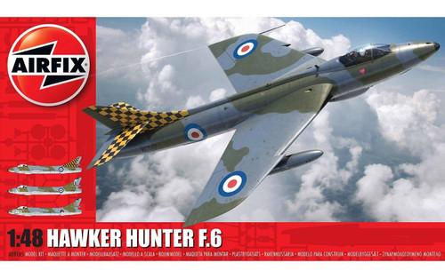 A09185 1/48 HAWKER HUNTER F.6 PLASTIC KIT
