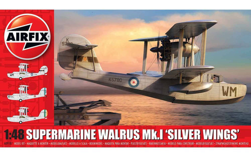 A09187 1/48 SUPERMARINE WALRUS SILVERWINGS PLASTIC KIT