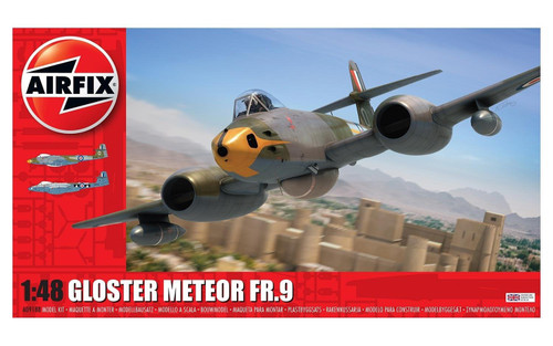 A09188 1/48 GLOSTER METEOR FR.9 PLASTIC KIT