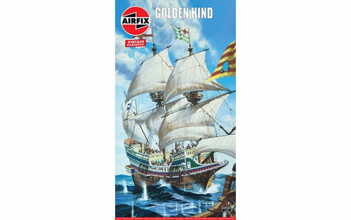 A09258V 1/72 GOLDEN HIND PLASTIC KIT